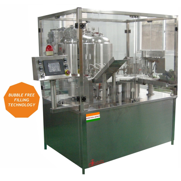 Cartridge Filling Sealing and Stoppering System in AhmedabadCartridge-Filling,-Sealing-&-Stoppering-System