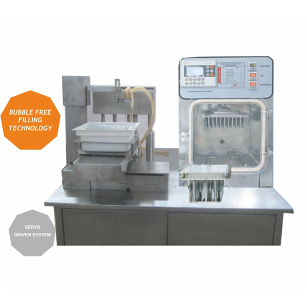 Semi Automatic Pre Fill Syringe Filling and Nested Stopper in AhmedabadSemi-Automatic-Pre-Fillable-Syringes-&-Nested-Stoppers